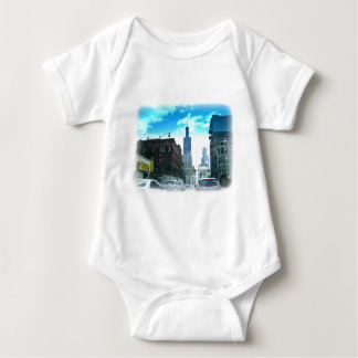 A Drive Through Downtown Chicago Baby Bodysuit