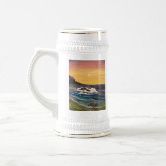 A drop in the Ocean Beer Stein