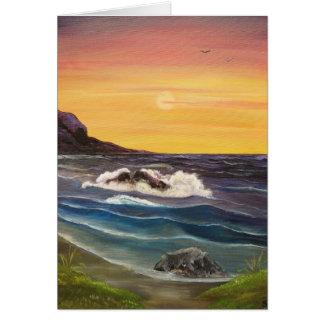 A drop in the Ocean Card