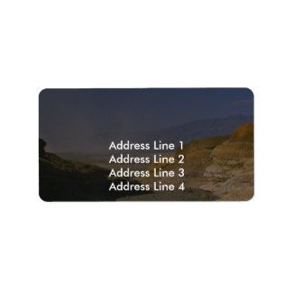 A Dry Bare Valley Custom Address Label