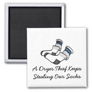 A Dryer T... 2 Inch Square Magnet