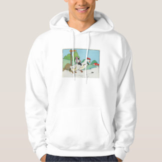 A duck and a drake, And a halfpenny cake Hoodie
