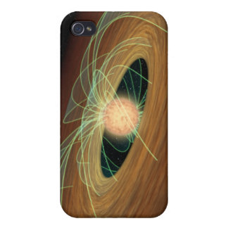 A dusty planet-forming disk in orbit iPhone 4/4S cover