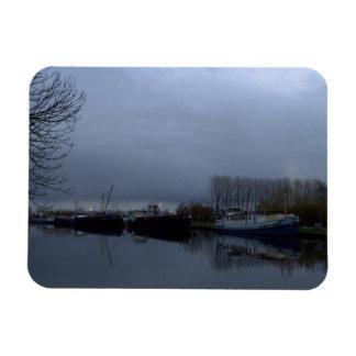 A Dutch canal Flexible Magnets
