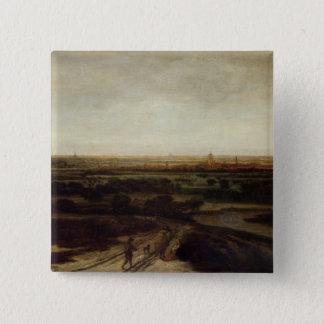 A Dutch Landscape Pinback Button