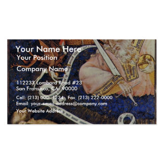 A Dying Recommends His Soul To God By Meister Von Double-Sided Standard Business Cards (Pack Of 100)