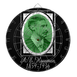 A.E. Housman Dart Board