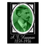 A.E. Housman Postal