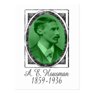 A.E. Housman Tarjetas Postales