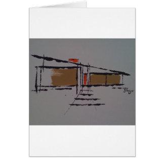 A Eichler home on a T #1 Card