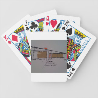 A Eichler home on a T #1 Playing Cards