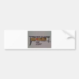 A Eichler home on a T #3 Bumper Sticker