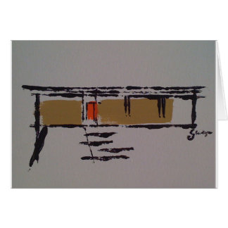 A Eichler home on a T #3 Card