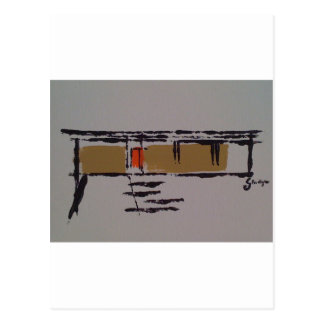 A Eichler home on a T #3 Postcard