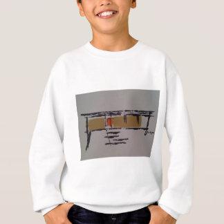A Eichler home on a T #3 Sweatshirt