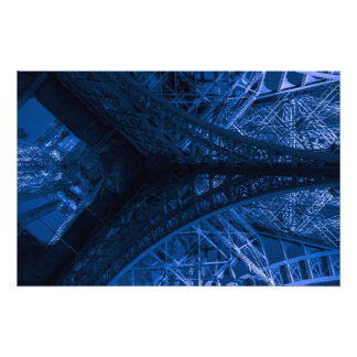 À Eiffel #10/azul de la oda Impresiones Fotograficas