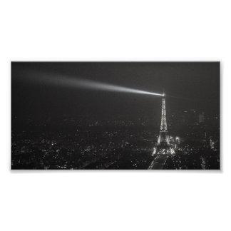 À Eiffel #1 de la oda en el top Impresión Fotográfica
