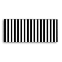 A Elegant Black and White Modern Stripes Envelope