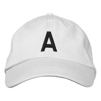 A EMBROIDERED BASEBALL CAP