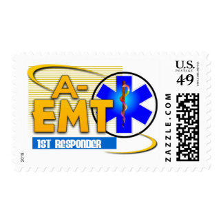 A-EMT 1ST RESPONDER - EMERGENCY MED TECH ADVANCED POSTAGE STAMPS