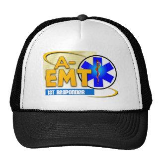 A-EMT 1ST RESPONDER - EMERGENCY MED TECH ADVANCED TRUCKER HAT