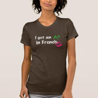 A+ en francés playera