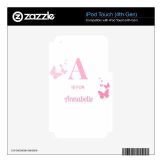 A está para Annabelle Skins Para iPod Touch 4G
