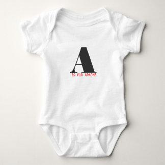 A está para Apache Body Para Bebé