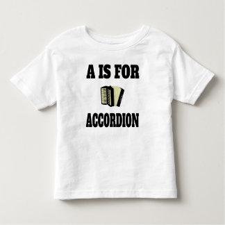 A está para el acordeón tshirt