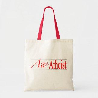 A está para el ateo bolsa tela barata