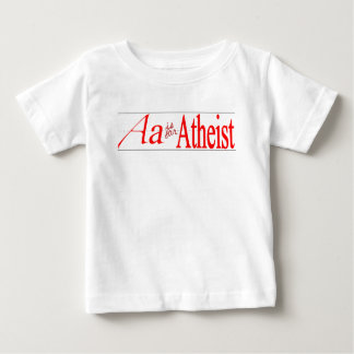 A está para el ateo playera de bebé