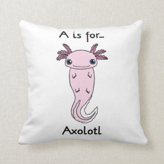 A está para la almohada del Axolotl