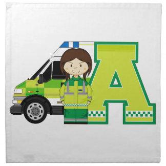 A está para la ambulancia