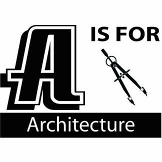 A está para la arquitectura escultura fotográfica