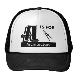 A está para la arquitectura gorros