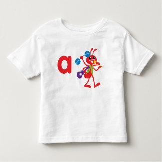 A está para la camiseta de la hormiga de Adán Polera
