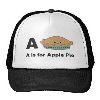A está para la empanada de Apple Gorras