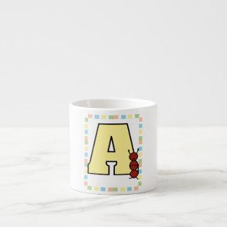 A está para la taza de la hormiga taza espresso
