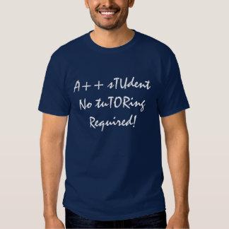 A++ Estudiante ningún curso particular requerido Camisas