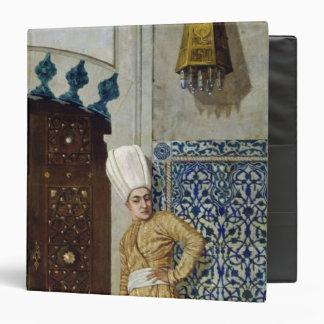 A eunuch before the door of the harem binder