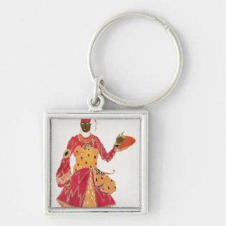 A Eunuch, from the ballet 'Scheherazade' Keychain