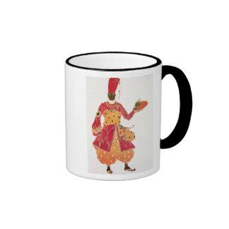 A Eunuch, from the ballet 'Scheherazade' Ringer Coffee Mug