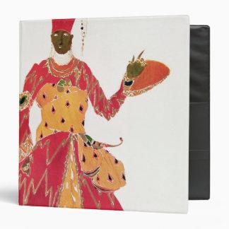 A Eunuch, from the ballet 'Scheherazade' Vinyl Binder
