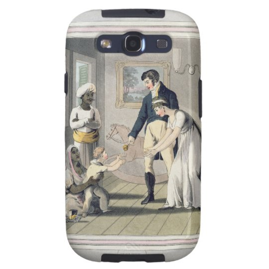 A European Lady and her Family, attended by an Aya Samsung Galaxy S3 Case