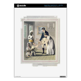 A European Lady and her Family, attended by an Aya Skins For iPad 3