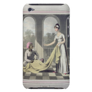 A European Lady giving instructions to her Durzee Barely There iPod Covers