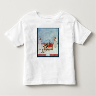 A European Seated on a Terrace with Attendants Toddler T-shirt