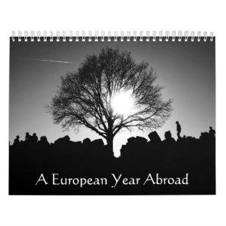 A European Year Abroad Calendar