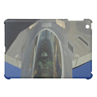 A F-22 Raptor receives fuel from a KC-135 iPad Mini Cases