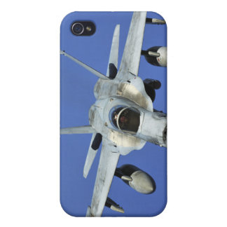 A F/A-18 Hornet participates in a mission iPhone 4/4S Covers